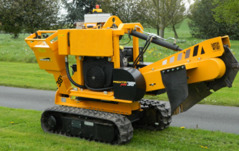 An image of a Predator Stump Grinder at SGL Forestry
